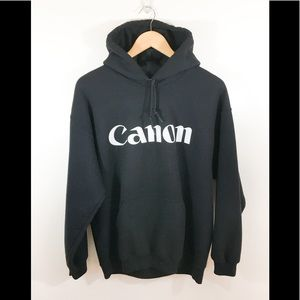 Vintage Canon oversized hoodie size large